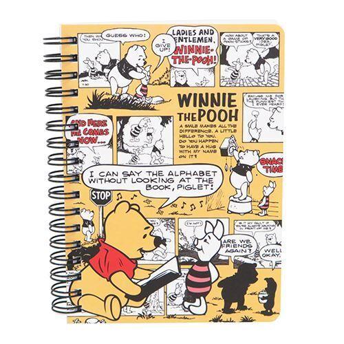 Light Orange Winnie The Pooh Story Panel Ring Binder
